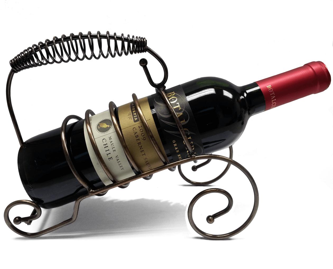 stojak na butelkę wina